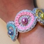 Gehäkeltes Armband - einfach und schnell