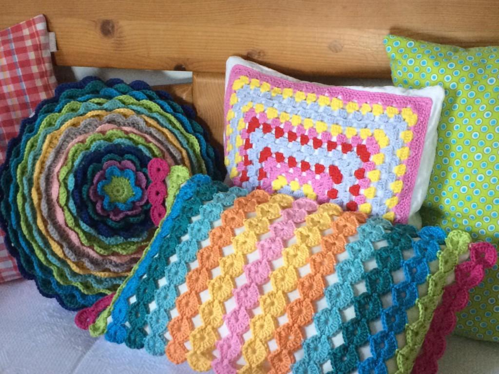 Häkelkissen Crochet