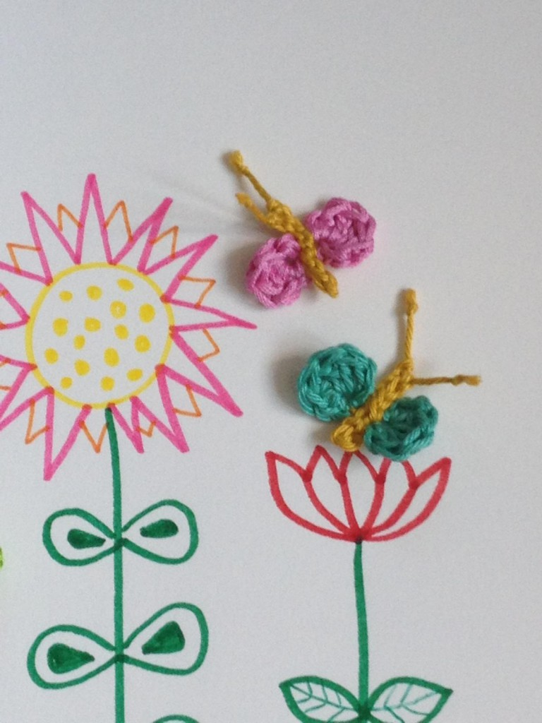 Crochet Butterfly (3)
