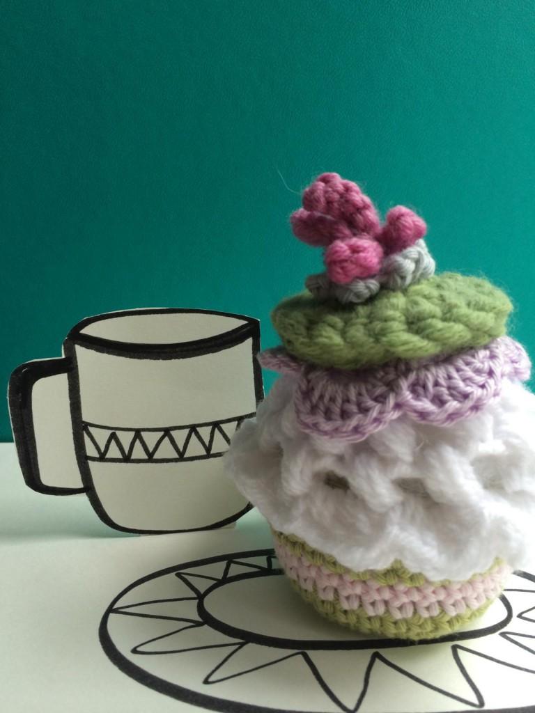 Cupcake gehäkelt (2)