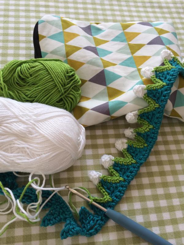 gehäkelte Borte crochet trim (5)