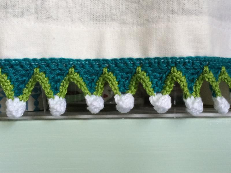 gehäkelte Borte crochet trim