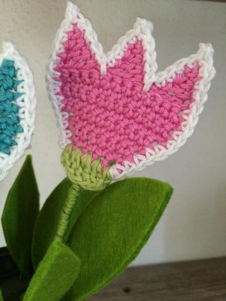 Blumen häkeln (2)