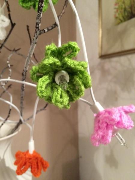 Crochet Flower Blüten gehäkelt (5)