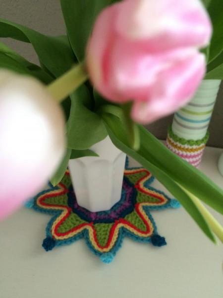 Crochet coaster (1)