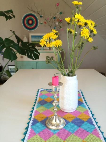 Tischläufer häkeln (3)