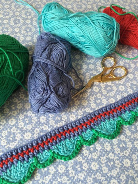 Crochet edging trim  (5)