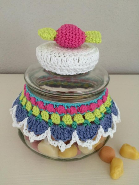 crochet glass cover (3)