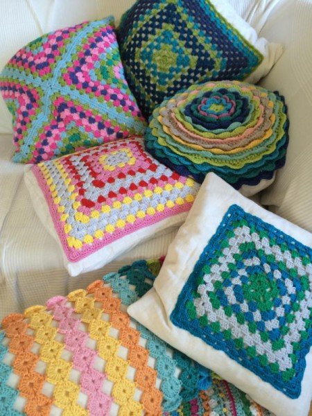 Crochet pillow cusion (3)