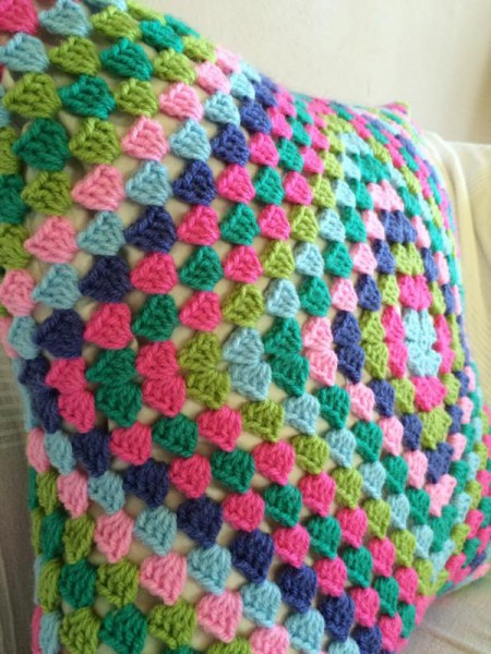 Crochet pillow cusion (5)