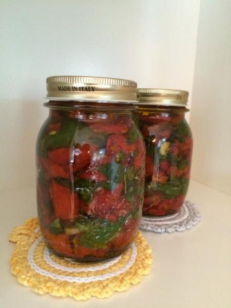 getrocknete Tomaten einlegen (1)