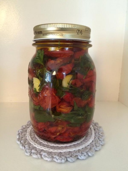 getrocknete Tomaten einlegen (3)
