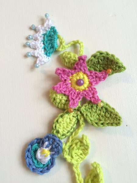 Blumengirlande haekeln (1)