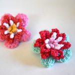 Anleitung/Tutorial: Blume häkeln oder flower crochet(en)