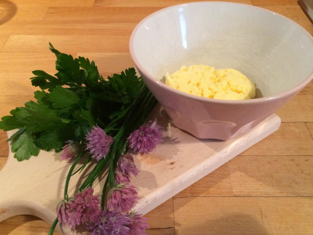 Von Sahne zur Butter