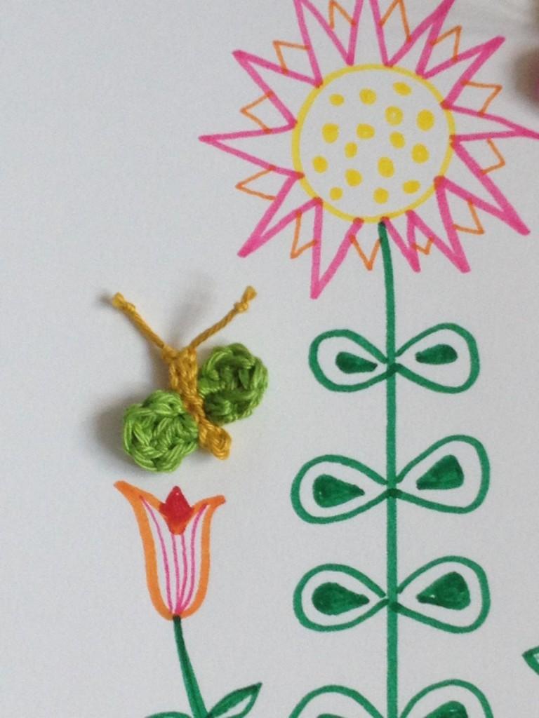 Crochet Butterfly (2)