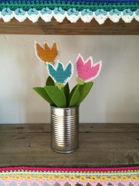 Blumen häkeln (3)