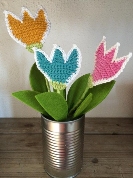 Blumen häkeln (4)