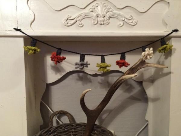 Crochet Girlande häkeln (1)