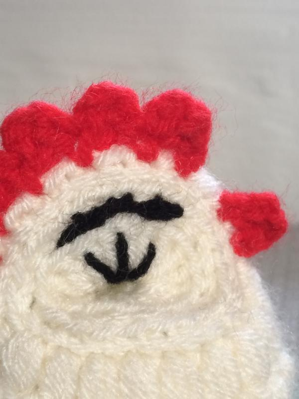 Huhn Häkeln 3 Häkelfieber