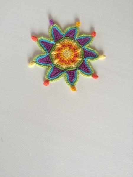 Crochet coaster (2)