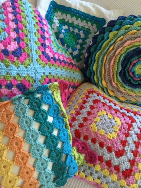 Crochet pillow cusion (4)