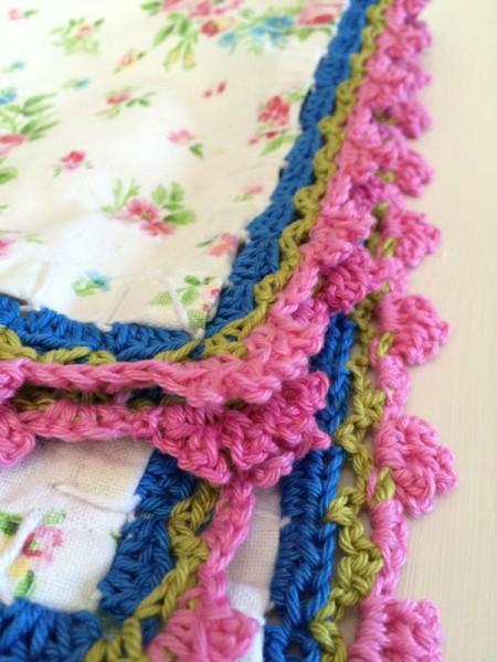 Deckchen umhäkeln (1)