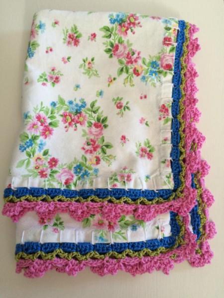 Deckchen umhäkeln (2)