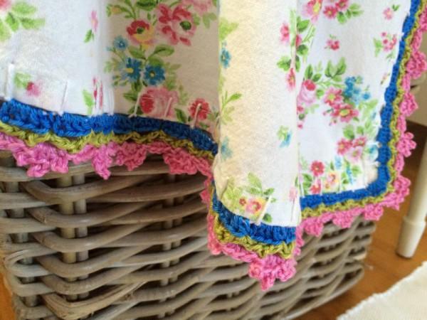 Deckchen umhäkeln (3)