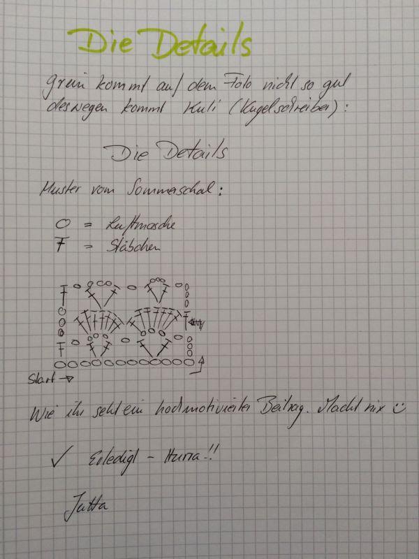 haekelschrift muschelstich