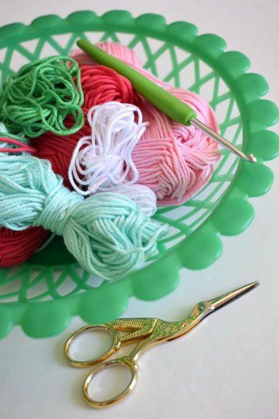 Anleitungtutorial Blume Häkeln Oder Flower Crocheten Häkelfieber
