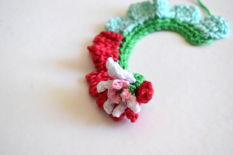Crochet Tutorial Flower Anleitung Blume Haekeln 10 Häkelfieber