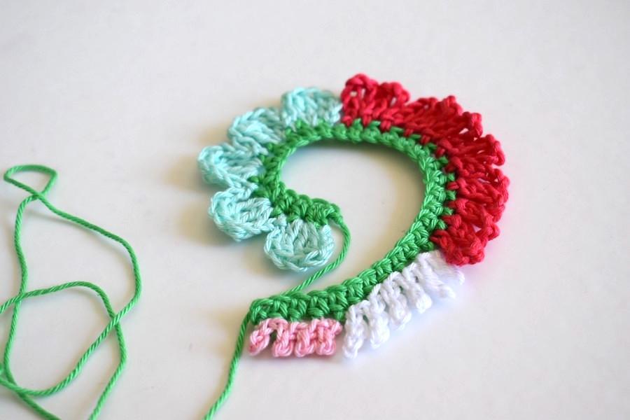 Crochet Tutorial Flower Anleitung Blume Haekeln 11 Häkelfieber