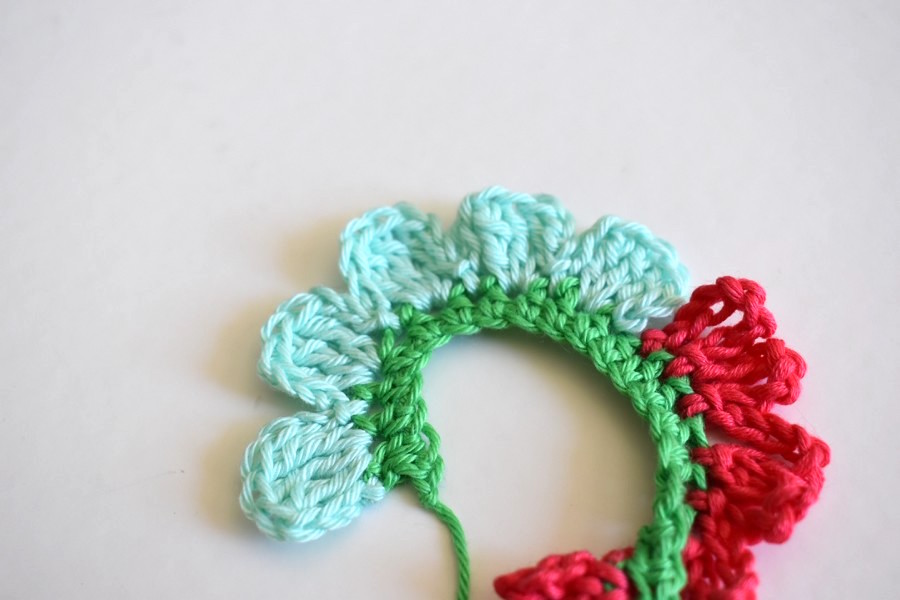 Crochet Tutorial Flower Anleitung Blume Haekeln 12 Häkelfieber