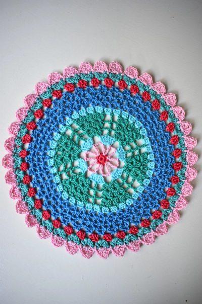 Kostenlose Anleitung Free Pattern Mandala Häkelfieber