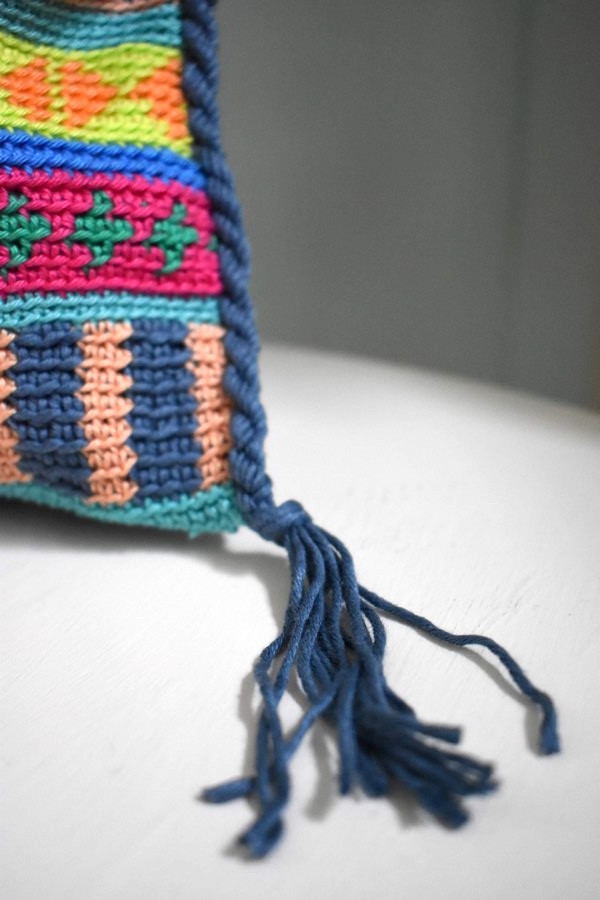 Tasche Boho Tapestry Haekeln Crochet 3 Häkelfieber