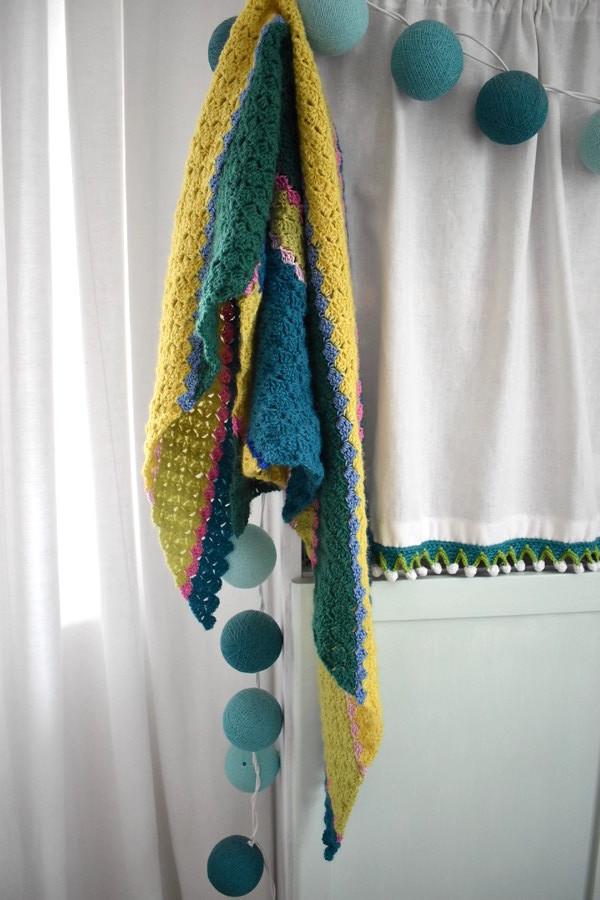 Socken Wolle Dreieckstuch Haekeln 3 Häkelfieber