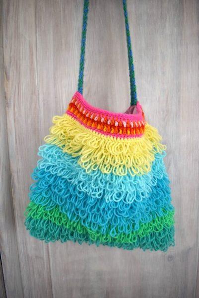 Tasche Gehäkelt Häkeln Crochet Bag Ihr Wisst Bescheid Häkelfieber