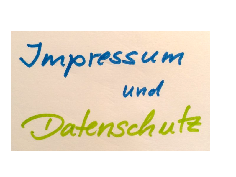 Impressum und Datenschutz